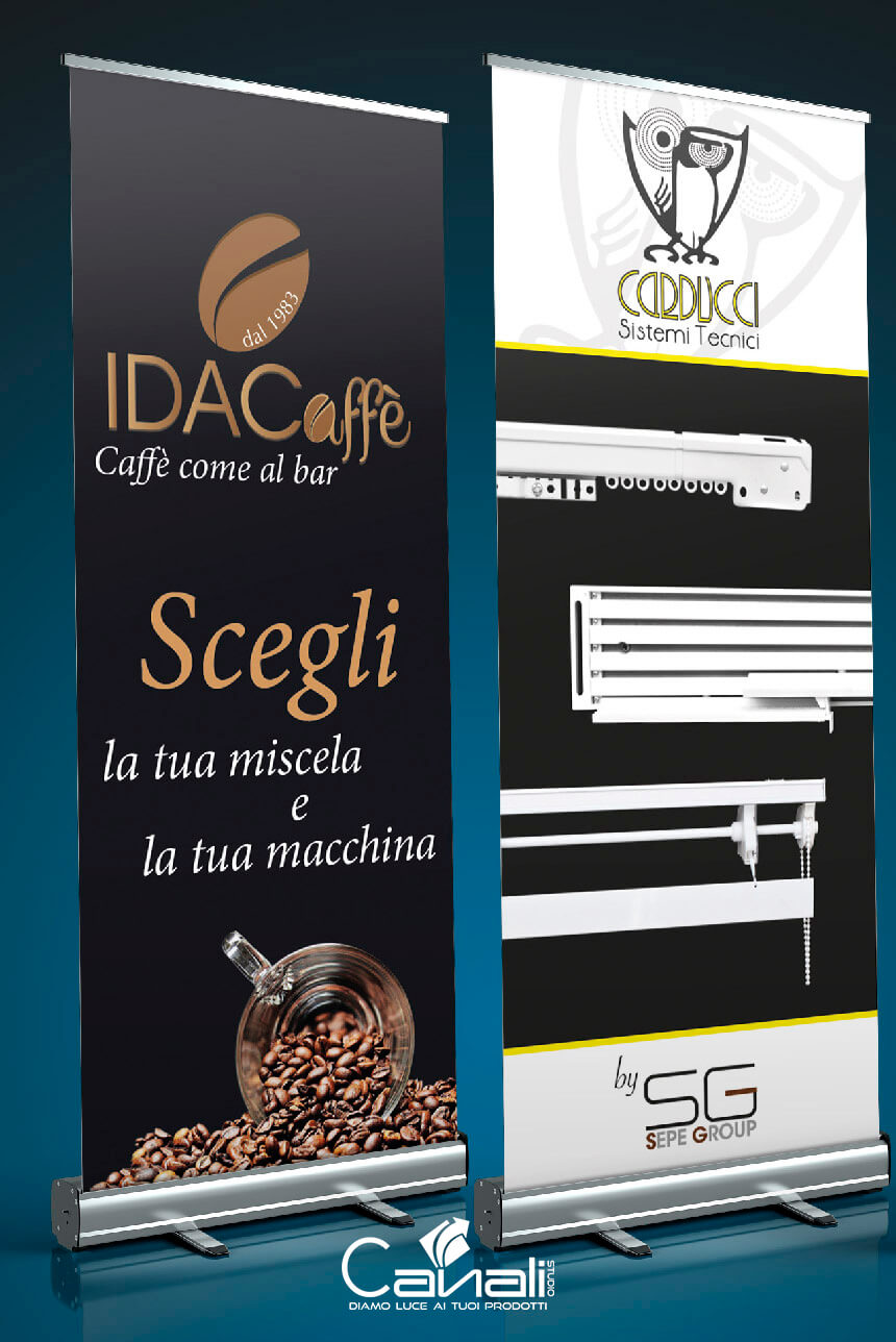 campagne pubblicitarie roll up