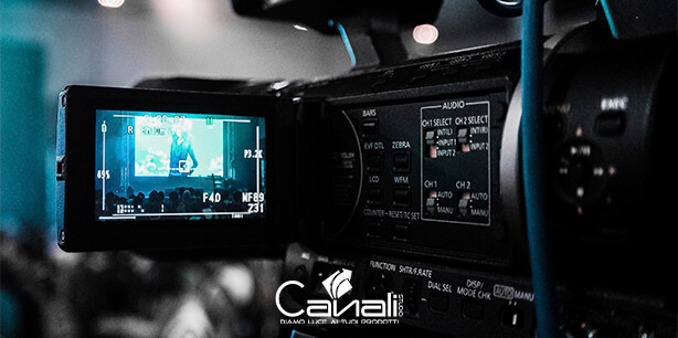 produzione video cinepresa