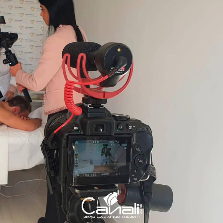produzione video Backstage