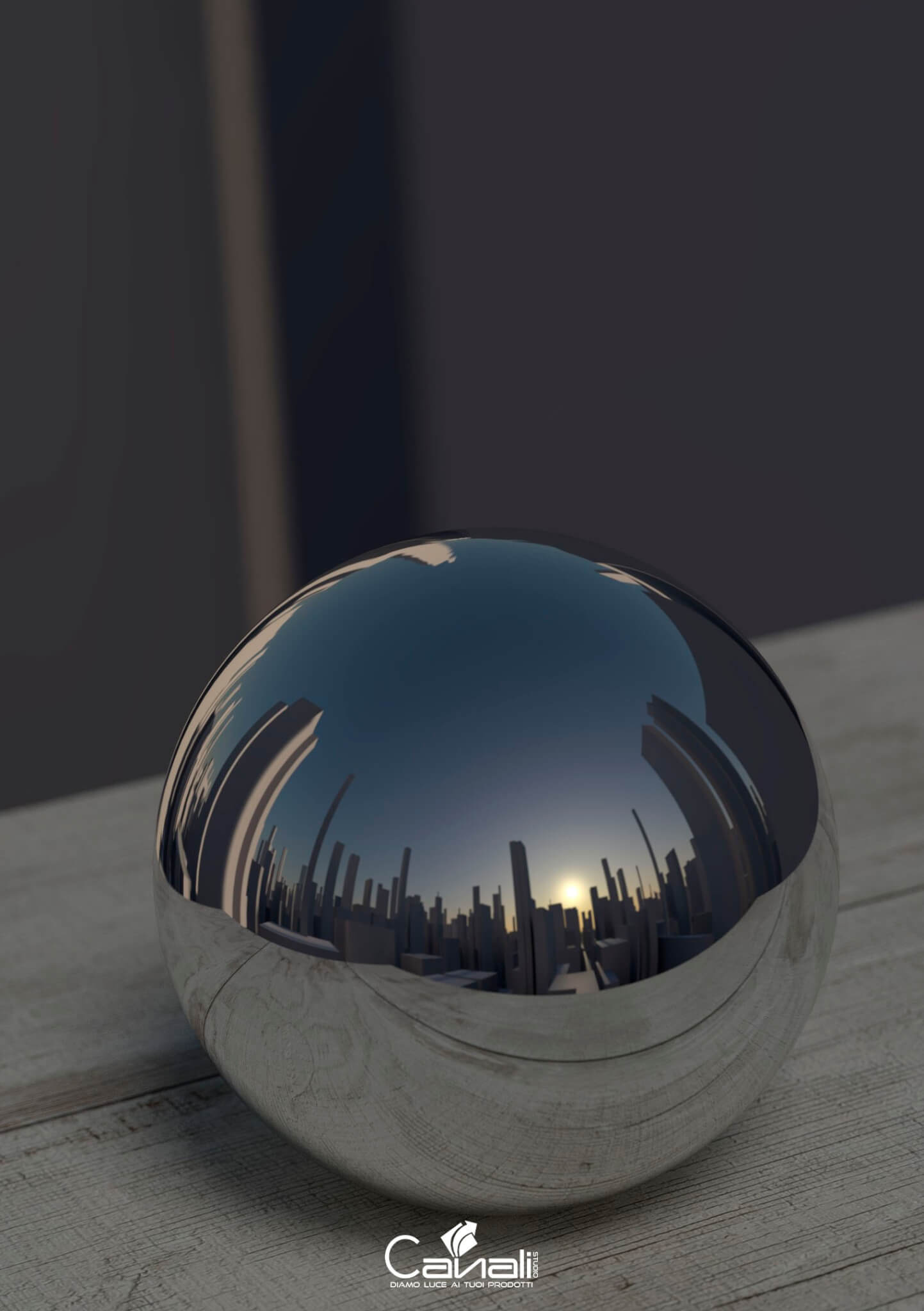 Rendering fotorealistici sfera